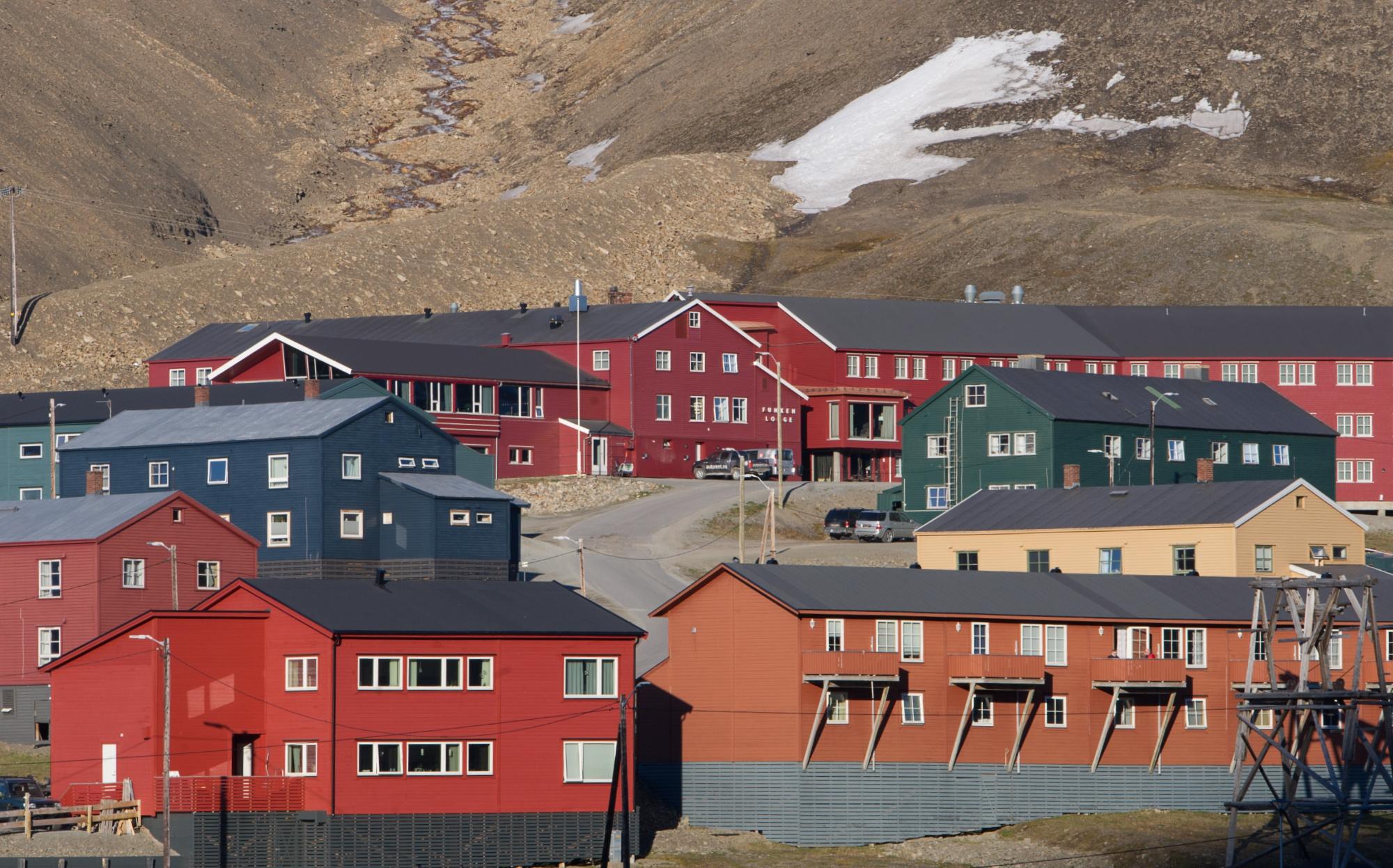 Boliger på Haugen. Foto Torbjørn Johnsen