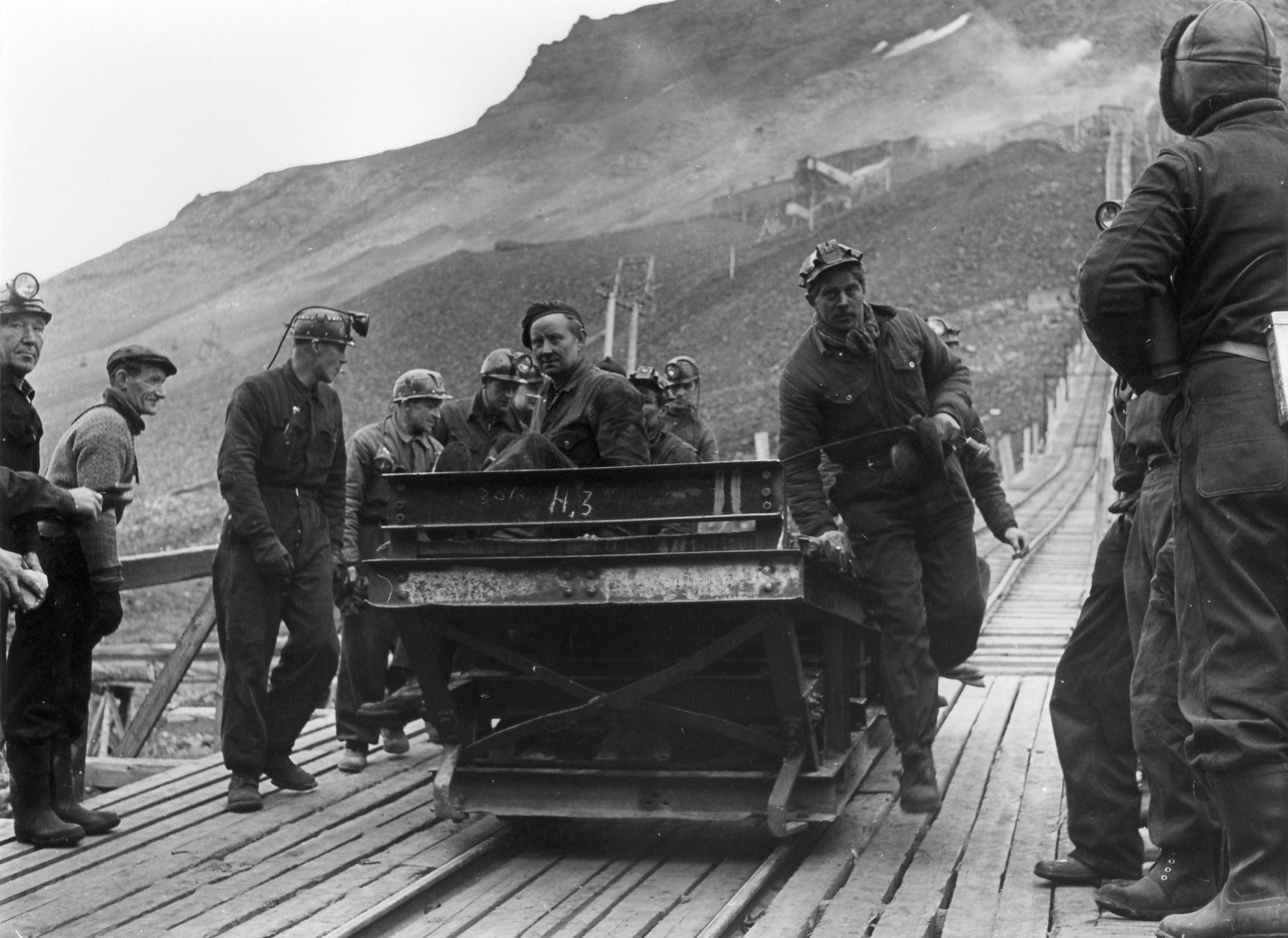 Fra heisen opp til Gruve 2b. Foto Leif A. Grøndal