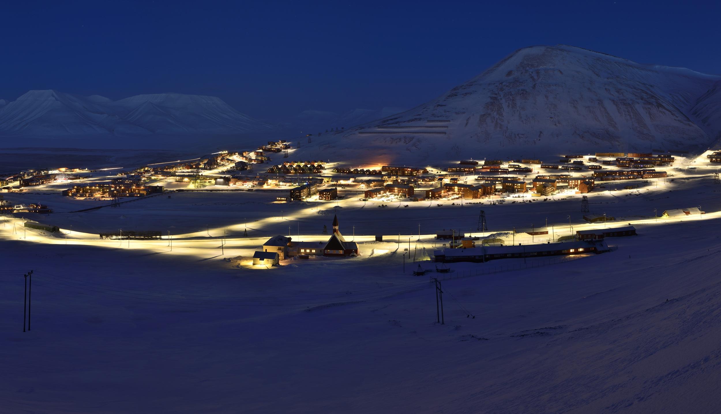 Longyearbyen - Foto Torbjørn Johnsen
