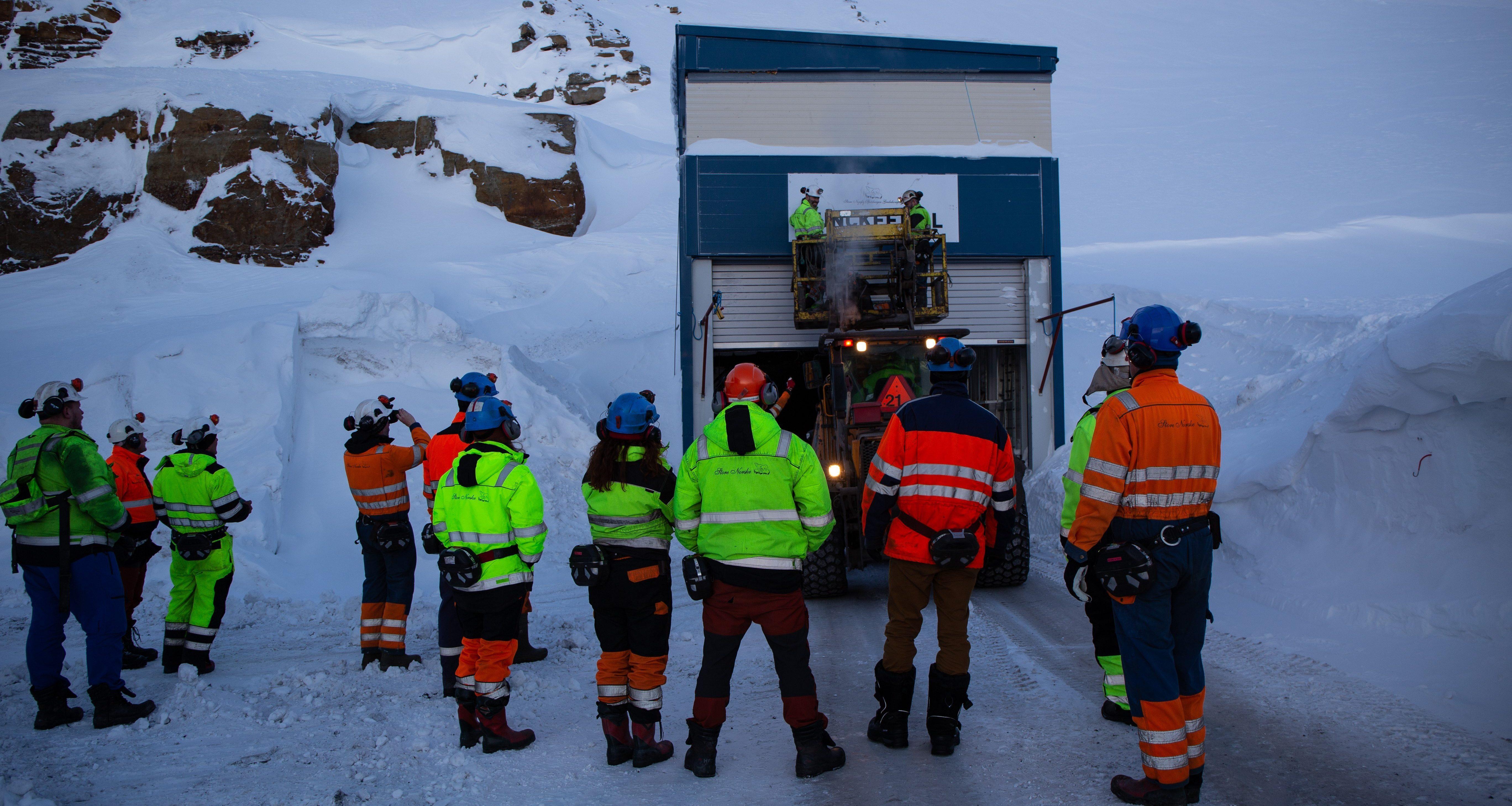 Lunckefjellgruva stenges
